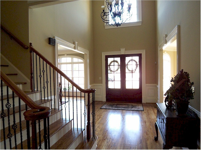Story Foyer Pictures : A two story foyer that houses plans designs